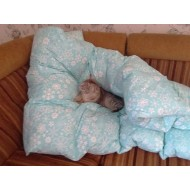 Одеяло 2-х спальное 150х220 из утиного пуха-пера