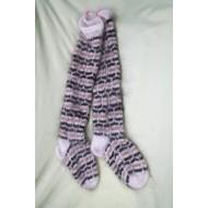 Носки длинные женские из козьего пуха