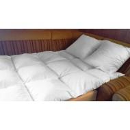 Перина 165х215 двухспальная из гусиного пуха-пера